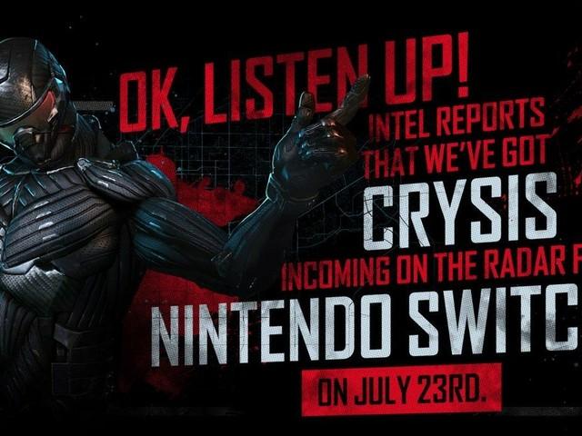 Crysis Remaster : la sortie maintenue en l'état pour le 23 juillet sur Switch