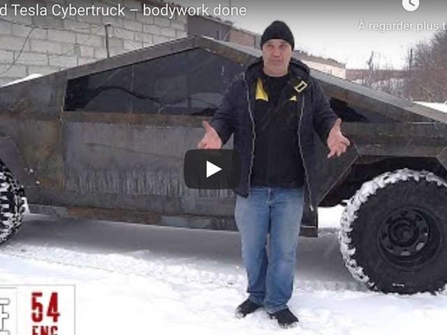 Le Tesla Cybertruck russe roule déjà