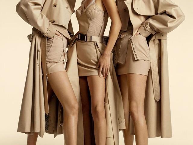 EXCLU Bella Hadid, Gigi Hadid et Kendall Jenner stars de la nouvelle campagne Burberry
