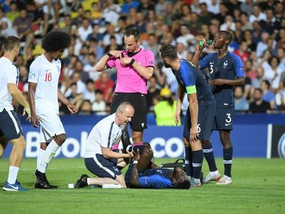Foot - Espoirs - Espoirs : Jonathan Bamba hospitalisé après Angleterre - France
