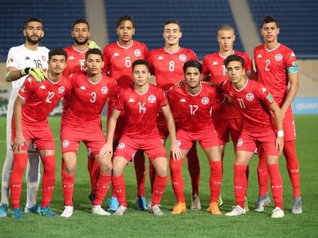 Coupe arabe des nations U20 : La formation rentrante de la Tunisie contre le Koweït