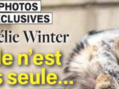 Ophélie Winter, le bout du tunnel, elle n'est plus seule à Paris (photo)