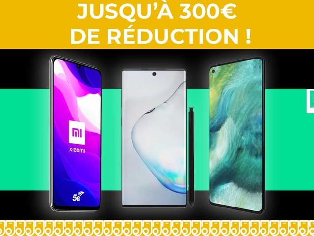 Jusqu'à 300€ de remise sur les promos Samsung, Oppo et Xiaomi chez RED by SFR !