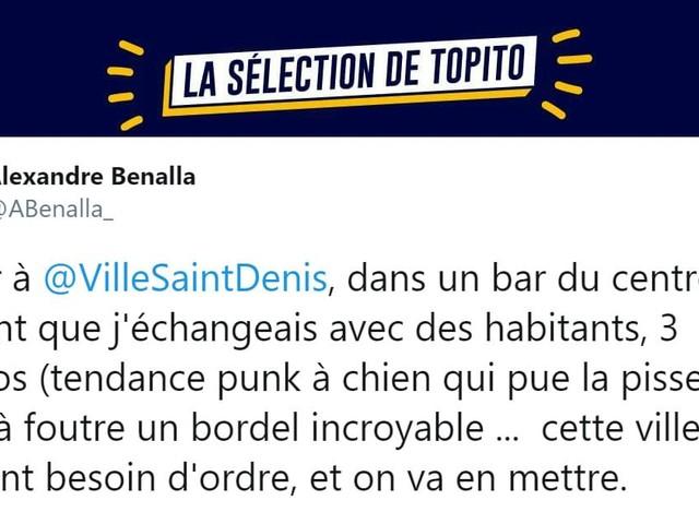 Top 10 des tweets les plus savoureux d'Alexandre Benalla, un homme qui s'exprime avec pondération