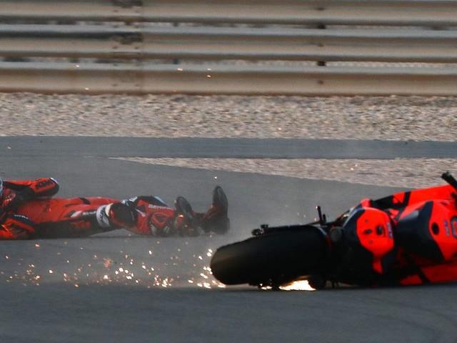 GP de Saint-Marin de MotoGP : la chute d'Iker Lecuona lors des essais libres 2 en vidéo