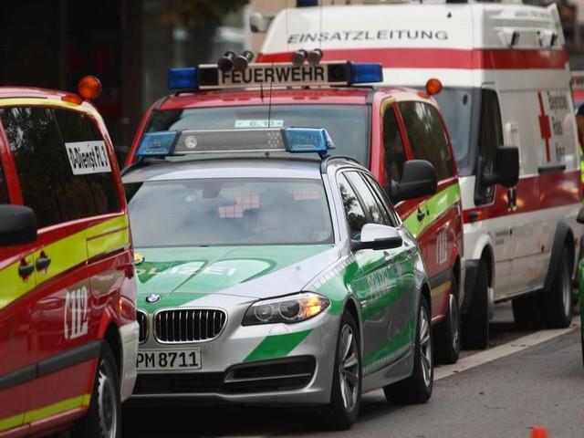 «Plusieurs blessés» après une attaque au couteau à Munich (vidéo, photos)