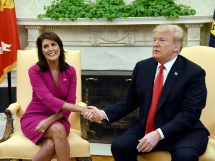 Démission surprise de Nikki Haley, l'ambitieuse ambassadrice de Trump à l'ONU