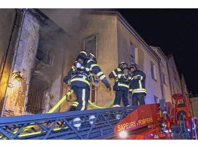 Toul : violent incendie au centre-ville
