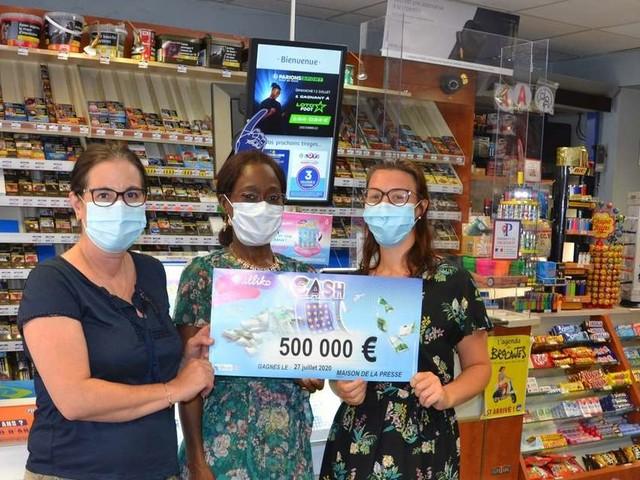 Lot-et-Garonne : elle gagne 500 000 euros grâce à un jeu à gratter