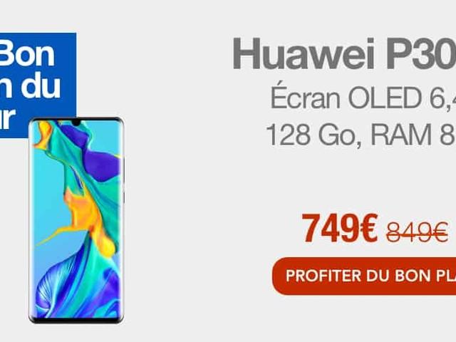 Bon plan : -100€ sur le Huawei P30 Pro chez Fnac