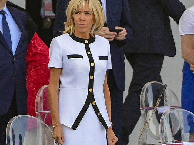 Défilé du 14-juillet : zoom sur la tenue très chic de Brigitte Macron