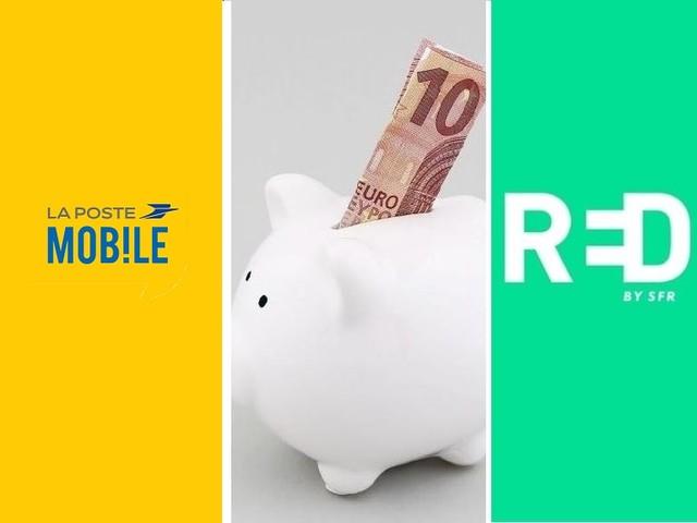 Bon plan forfait mobile : qui choisir entre RED by SFR et La Poste Mobile ?