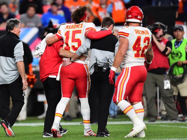 Chiefs: Mahomes blessé au genou