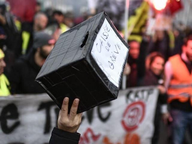 La France insoumise propose aux députés d'opposition de faire une cagnotte pour les grévistes