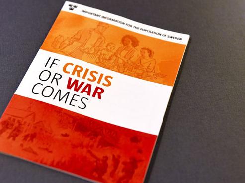 """""""Comment se préparer en cas de guerre ?"""": la Suède distribue des brochures à plusieurs millions d'habitants"""
