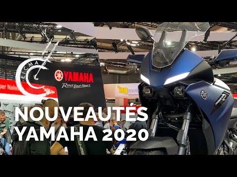 Nouveautés motos Yamaha 2020