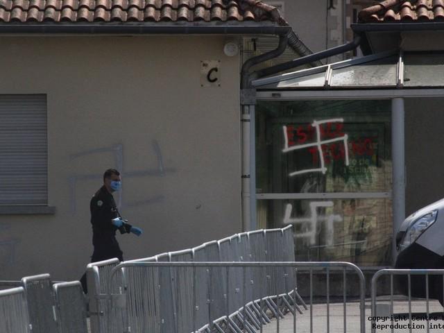 Tags antisémites et menaces de mort sur les murs du collège de Chauvigny
