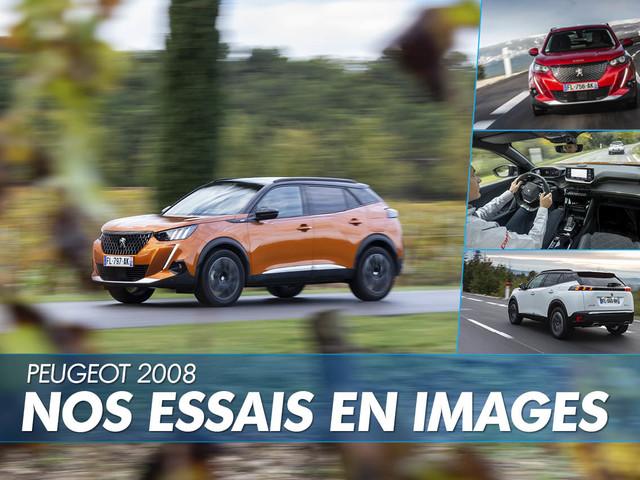 Peugeot 2008 (2020) : les plus belles photos de nos essais