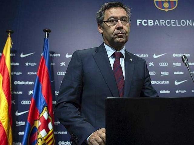 "Catalogne. Bartomeu: le Barça ne sera pas un ""instrument manipulable"""