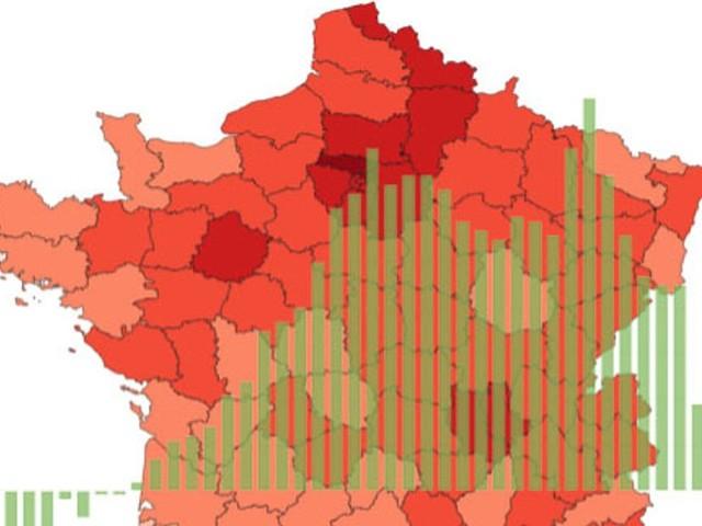 Covid-19: les chiffres de l'épidémie en cartes et courbes pour comprendre la situation