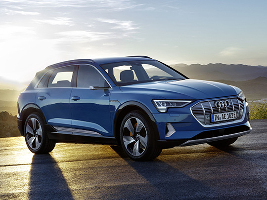 L'Audi e-tron à l'essai : l'offensive électrique du groupe Volkswagen