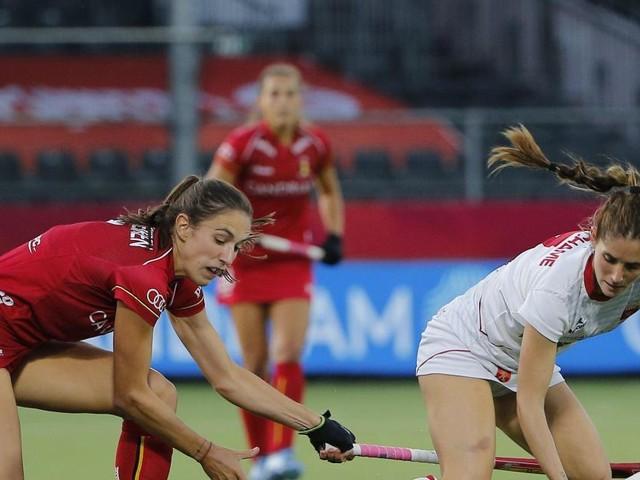 Euro de hockey: les Red Panthers affrontent l'Espagne pour une place en demi-finale (direct, 0-0)