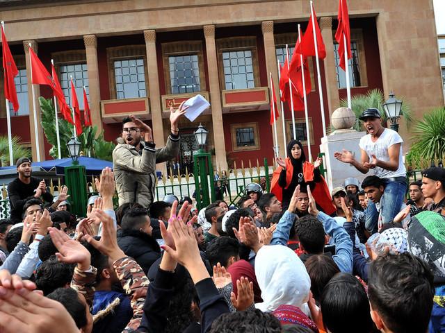 GMT+1: Des milliers d'élèves poursuivent les manifestations dans plusieurs villes du Maroc