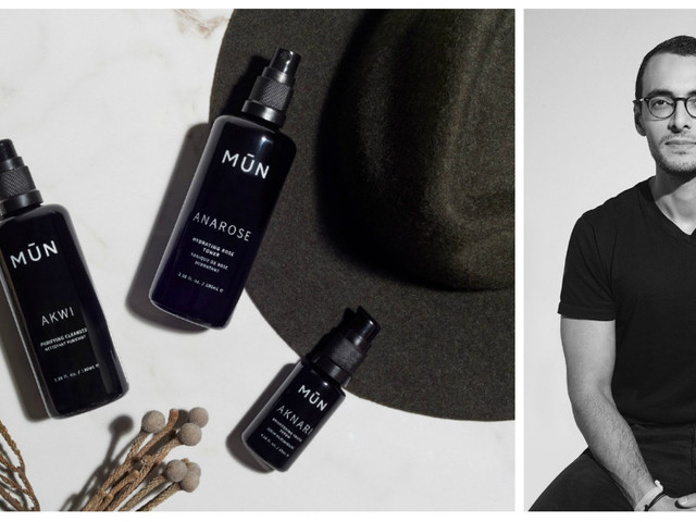 Entretien avec Anas Saidi, ex-trader et co-fondateur de MŪN, la marque de cosmétique naturelle qui fait fureur aux États-Unis