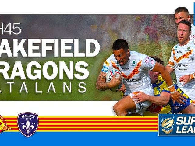 DIRECT RUGBY à XIII - Vivez le match Wakefield - Dragons Catalans
