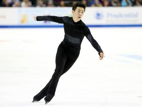 Patinage artistique: Chen impressionne aux Championnats des Etats-Unis
