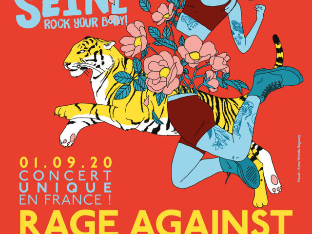 ROCK EN SEINE – Rage Against The Machine