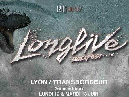 Live Report : Longlive Rockfest, Jour 1 @ Transbordeur, Lyon - 12/06/17