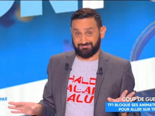 Boycott de TPMP : Cyril Hanouna s'affiche en slip sur la tour de TF1 ! (Vidéo)