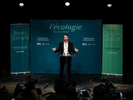 Municipales: le triomphe des Verts met Macron au défi