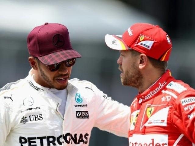 GP d'Azerbaïdjan: Vettel/Hamilton, c'est reparti pour un tour à très haute vitesse