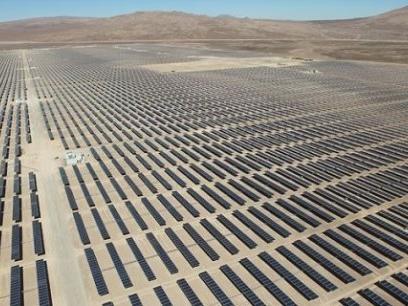 Energie : EDF va développer le plus grand parc solaire du Chili