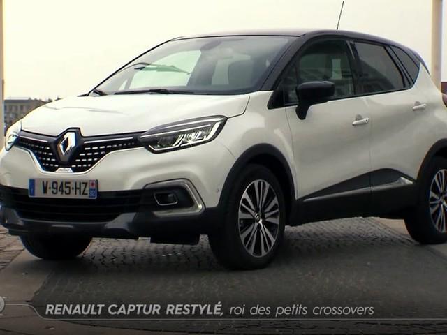 Renault Captur restylé : roi des petits crossovers - Emission TURBO du 21/05/2017