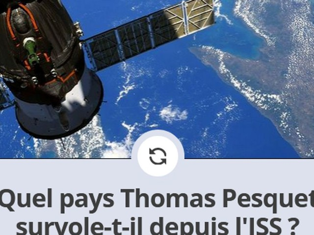 Thomas Pesquet a pris ces photos depuis l'ISS, que montrent-elles ? [QUIZZ]