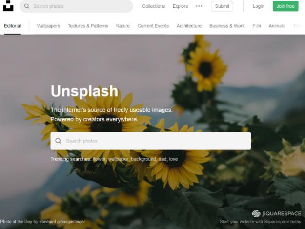Unsplash : Une incroyable collection d'images gratuites pour vos projets