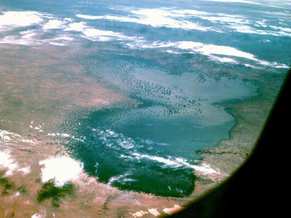 La NASA publie une troublante image du lac Tchad, jadis le plus grand de la Terre