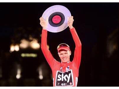"""Un contrôle antidopage """"anormal"""" pour Froome au Tour d'Espagne"""