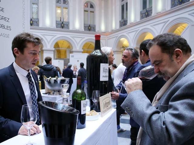 Bordeaux Tasting : les visiteurs au rendez-vous pour déguster les grands vins