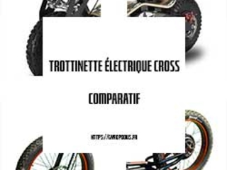 Top 6: Meilleures trottinettes électrique tout terrain - Comparatif 2019