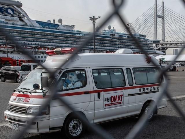 Coronavirus: le nombre de cas a triplé sur le navire en quarantaine au Japon
