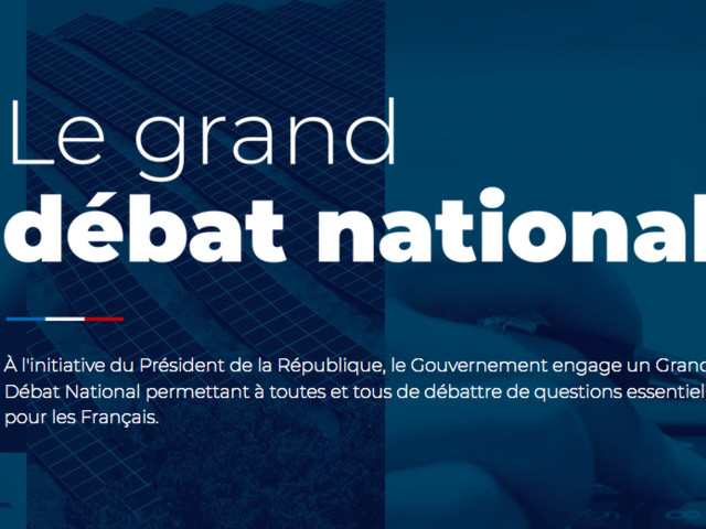Granddebat.fr : le site Internet pas si neutre du grand débat national de Macron