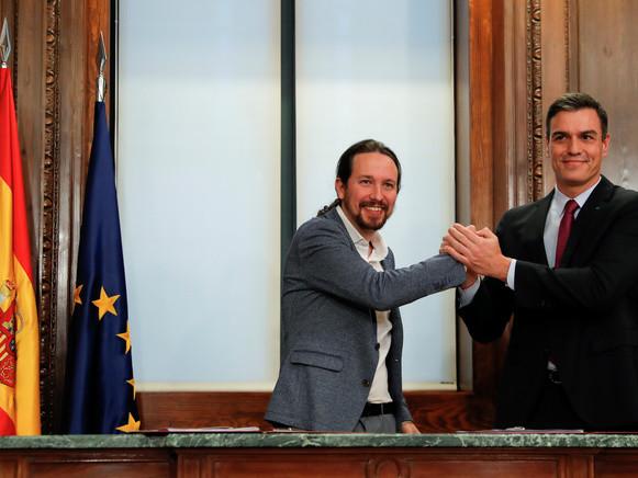 Feu vert imminent pour une «coalition progressiste» en Espagne