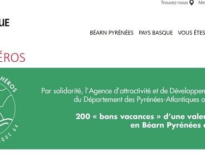 """Repos des Héros : l'AADT Béarn-Pays basque offre 200 """"bons vacances"""" aux soignants !"""