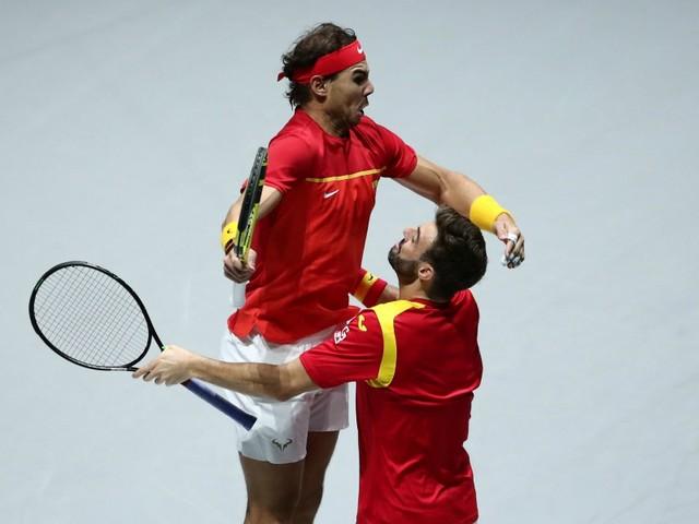Nadal et l'Espagne dans le dernier carré