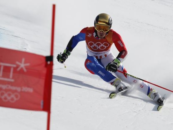 JO 2018 - Ski alpin (H) - Victor Muffat-Jeandet après le slalom géant : «C'est très positif pour moi»