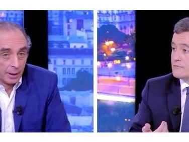 «Vous ne débattez pas avec madame Le Pen»: le débat Zemmour-Darmanin fait pschitt